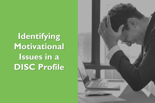 Identifying Motivational Issues in a DISC Profile